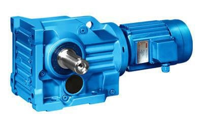 China Helical Bevel Geared Motor