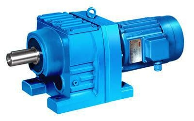 China Inline Helical Gearmotor