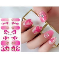 Cheap Part Hot Stamping Imitation Diamond 3D Nail Stickers for sale