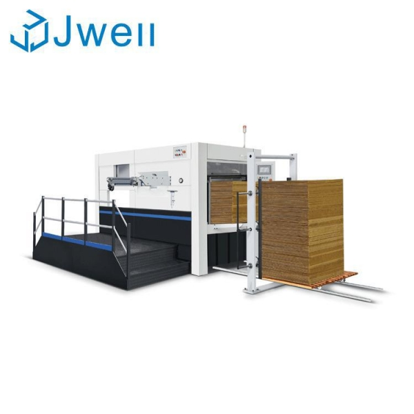 China Semi automatic Die Cutting Machine with Stripping