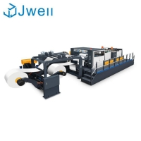 Buy cheap Double Synchro-fly Paper sheeting machine from wholesalers