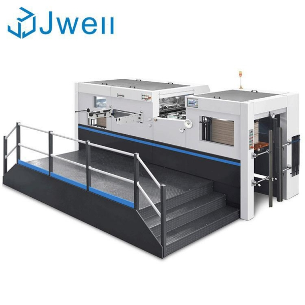 China Automatic platen die cutting and creasing machine(1060mm)