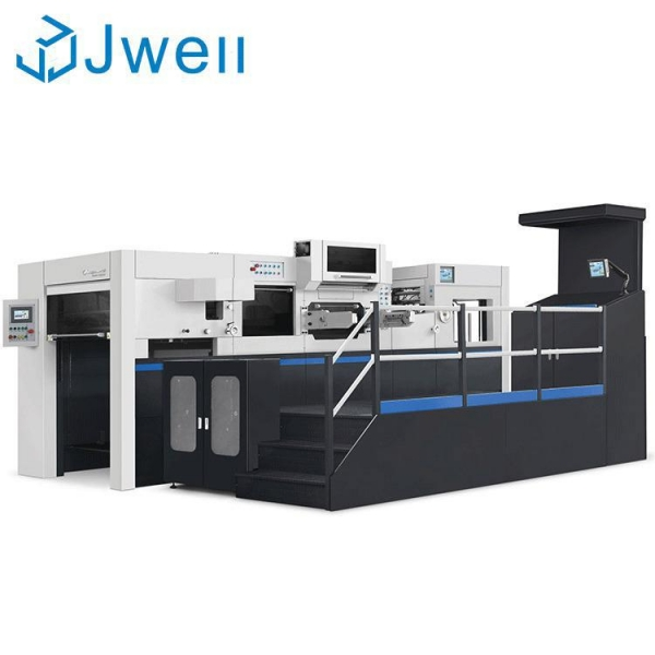 China Automatic hot foil stamping machine