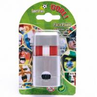 Cheap Football Fans Flag And Body Safe Material Non-toxic Face Paint Face Paint Stick For World Cup for sale