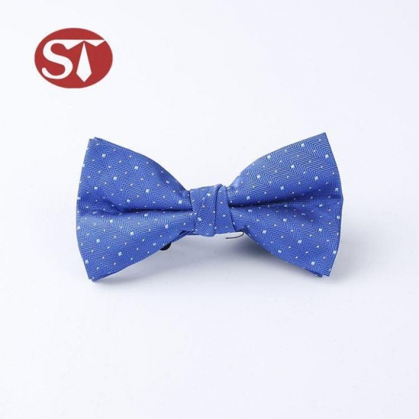 Quality Bow Tie Polyester Knitted Bow Tie wholesale