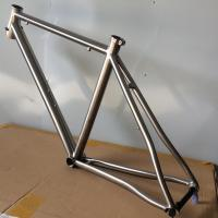 Buy cheap PYTITANS TITANIUM Road Bike Frame 29er 700c Easy Light Speed bicycle from wholesalers