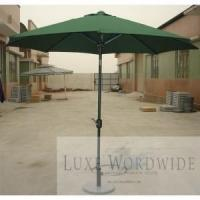 Cheap Pull String Wood Umbrella for hotel and resort, beach for sale