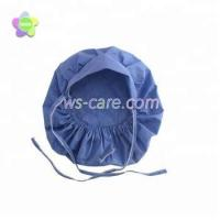 Ties in Back Fitted cord Surgical Scrub Cap Medical Bouffant Hat, blue /pink/green /yellow/purple