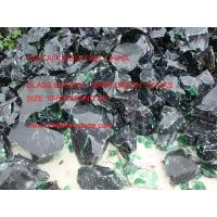 Buy cheap Glass Rocks dark green from wholesalers