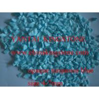 Buy cheap Opaque turquoise blue glass from wholesalers