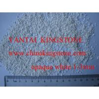 Buy cheap Opq white glass chips from wholesalers