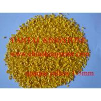 Buy cheap Yellow Opaque glass chips from wholesalers