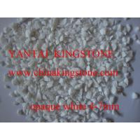 Buy cheap Opaque White glass chippings from wholesalers