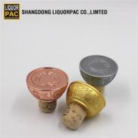 Buy cheap good quality zinc alloy stopper for rum glass bottle from wholesalers