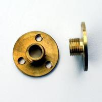 METAL COMPONENTS M10 BRASS NIPPLE PLATE