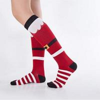 China Christmas compression socks on sale