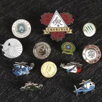 Custom Metal Pin Button Badge With OEM ODM Logo