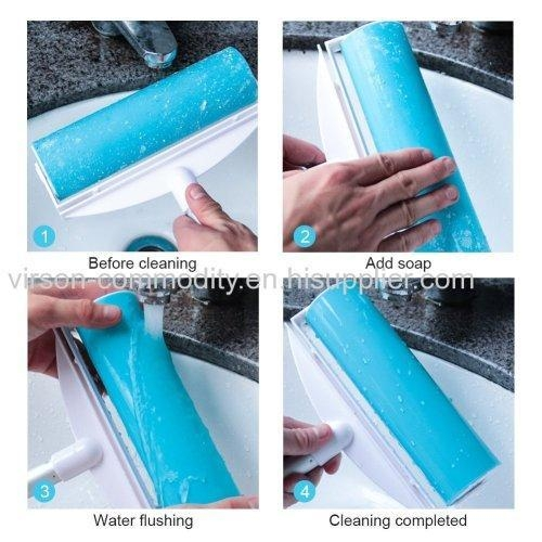 China Silicone Lint Roller with long handle Admin Edit