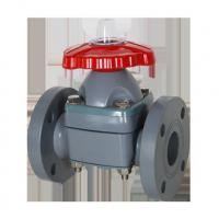 Buy cheap New CPVC Flange Diaphragm Valve from wholesalers