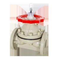 Buy cheap PPH Flange Diaphragm Valve from wholesalers
