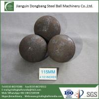 115mm Media Balls for Silver Ore Mine Mineral Processing