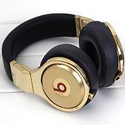 Cheap New Arrival products Luxury Beats PRO 24K Gold plated Headphones for sale