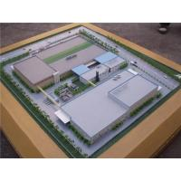 High Detailed Architectural Scale Model Miniature For Steel Factory Park