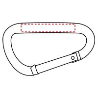 Buy cheap 3 Inch Large Carabiner With Web Strap from wholesalers