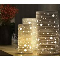 Buy cheap Creative Gold Cage Table Lamp with Stainless Steel from wholesalers