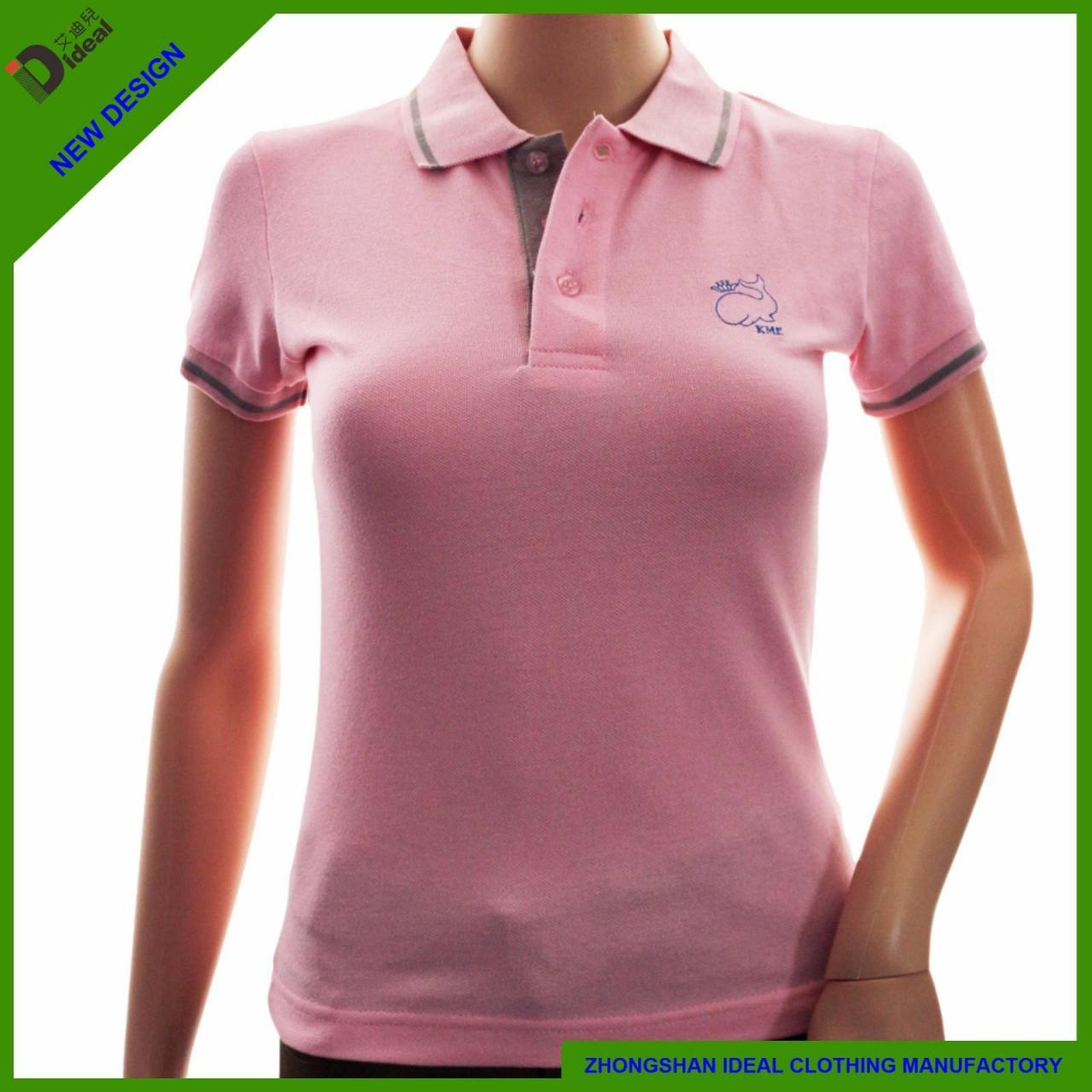 Buy cheap Polo Shirts Ladies Cotton Pique Polo Shirt from wholesalers