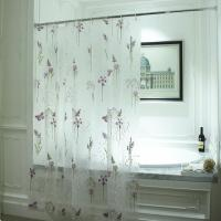 Buy cheap Shower Curtain Semi Transparent Durable EVA Shower Curtain from wholesalers