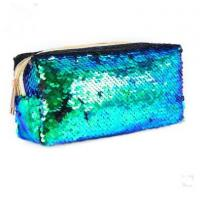 Buy cheap New Arrival sequin fabric handbag on line cosmetic bag for lady cute wallets from wholesalers
