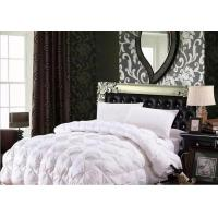 Cheap 100% Cotton Luxury Duck Down Quilt / Duck Feather And Down Duvet Alternative Washed for sale