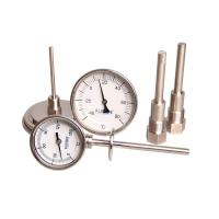 Cheap Stainless steel bimetal thermometer for sale