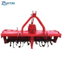 Cheap Four Wheel Rotary Cultivator Agricultural Equipment 3-point Hitch Tractor Rotavator Tiller for sale