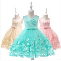Cheap Children Clothing Factory Baby Party Frocks Image Modern Fashion Kids Wear Girl Party Dress L5033 for sale