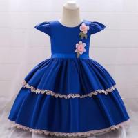 Cheap Wholesale Baby Party Wear First Communion Gowns Small Baby Birthday Summer Dresses L1872XZ for sale