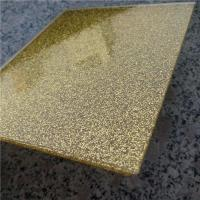 Cheap Glitter acrylic sheet customize color for sale