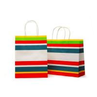 Cheap bleached kraft paper shopping bag for sale