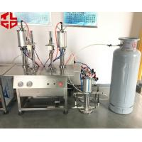 China Vacuum Cartridge LPG Gas Filling Machine, Butane Gas Bottle Filling Machine on sale