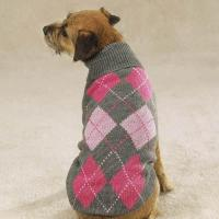 Cheap Dog products Dog Sweater Plaid Clothes for sale