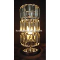 China Chrome Metal Base With Clear Acrylic Table Lamp on sale