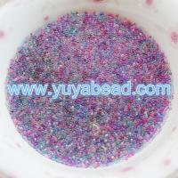 China Tiny Clear Glass Micro Beads Nail Art Stickers--GY001 on sale