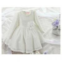Buy cheap baby girls latest design party dress/lace dress with flower for wedding dress from wholesalers
