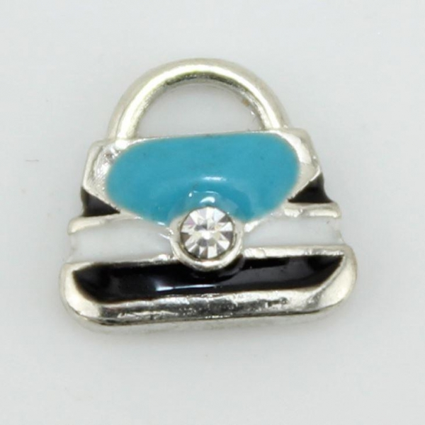 Quality Aqua Handbag Floating Charm wholesale