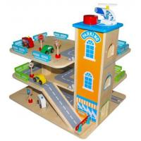 China Wooden Toy Garage on sale