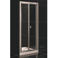 Cheap Bi-fold Door Shower Enclosure with Side Panel for sale