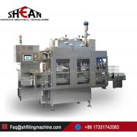 China Automatic Hot Filling Coconut Juice with Pulp Four in One Machine Price