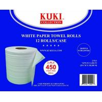 Buy cheap Tissue and Paper Products Paper Towel Rolls - White - 12 Rolls/Case - 450' Rolls from wholesalers