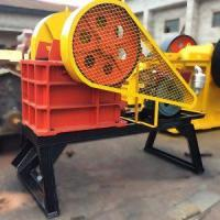 Buy cheap Small Mobile Stone Diesel Engine Jaw Crusher from wholesalers